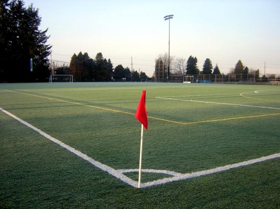"Our constraints can be seen as ""corner flags."" Image source: Idlir Fida via Wikimedia Commons"